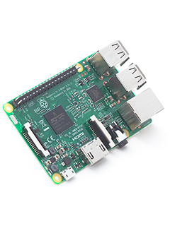 The new Raspberry Pi 3 is the first 64-bit computing board from Raspberry Pi