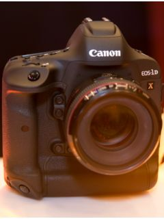 Canon's EOS-1D X Mark II leads the company's new camera lineup