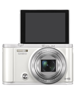 The 12.1MP Casio EX-ZR3600 makes capturing and sharing selfies easier