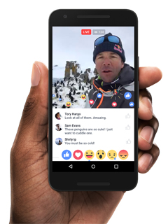 Facebook Live is now live for everyone