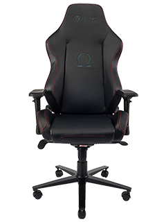 Secretlab launches the Omega Elite, an all-leather gaming chair with a stealthy look