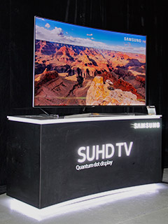 Samsung's super-bright and HDR-capable SUHD TVs are now in stores