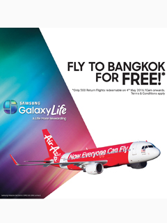 Win yourself a free trip to Thailand with the Samsung GALAXY Life app