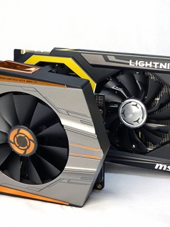 A feature on ASUS ROG Matrix GeForce GTX 980 Ti Platinum Edition