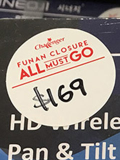 In pictures: Challenger discounts more items for its Funan outlet closure sale