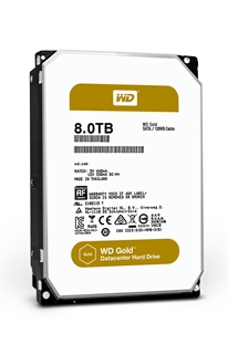 WD launches Gold hard drives