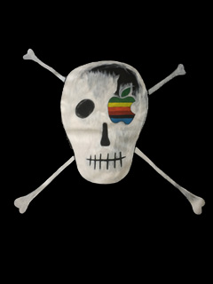 Apple flew a pirate flag over its HQ on April Fools' day, and it wasn't a joke