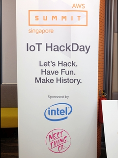 MY team emerged as first runner-up in AWS ASEAN IoT HackDay