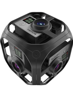 GoPro expands VR efforts with new GoPro Omni rig