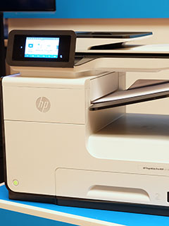 HP's new PageWide Enterprise printers can print up to 75 pages per minute