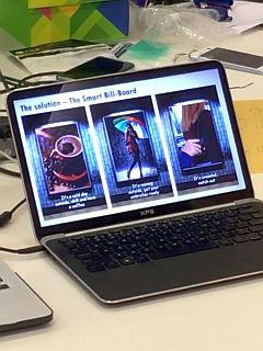 AWS ASEAN IoT HackDay: Team IoTiger - Smart Billboard Demo
