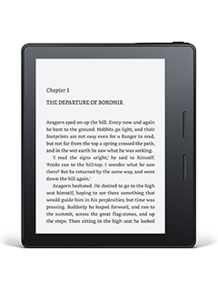 Amazon's new Kindle Oasis is its most design-centric e-reader to date