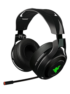 Razer's ManO'War wireless gaming headset promises lag-free gaming audio