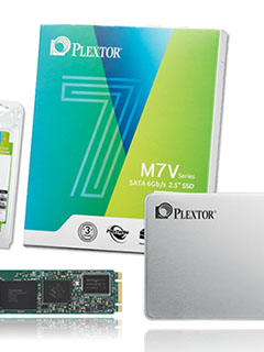 Plextor unveils affordable new M7V SSD