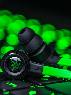Razer updates Hammerhead in-ear gaming monitors with flat cables and better audio