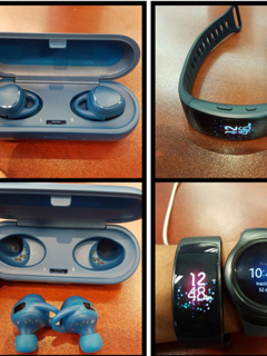 Images of the Samsung Gear Fit 2 and Gear IconX have leaked on to the Internet