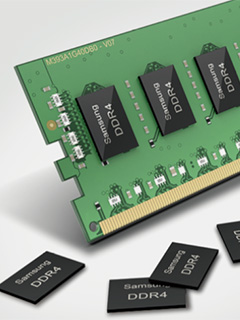 Mass production of Samsung's 10nm 8Gb DDR4 DRAM chips have begun