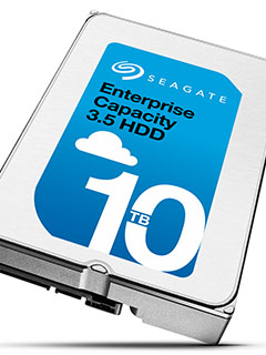 Seagate begins shipping out their 10TB helium-filled drives in volume