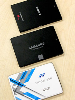 A feature on Sony SLW-M SSD (480GB)