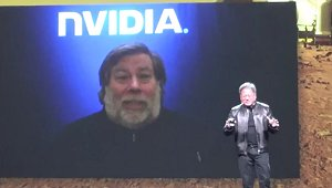 Steve Wozniak jumps into Mars 2030 VR experience at NVIDIA's GTC 2016