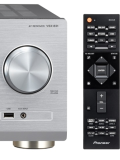 Pioneer launches new AV receivers, VSX-831 and VSX-531