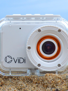 The ViDi Action Camera is a simple and inexpensive videomaker