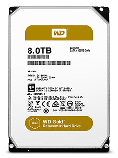 WD goes for gold with their new Gold HDDs for data centers