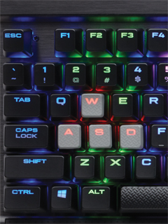 Corsair's K65 RGB and K70 RGB RAPIDFIRE keyboards will arrive in Malaysia soon