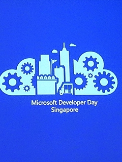 Microsoft CEO Satya Nadella delivers his keynote address at Microsoft Developers Day Singapore