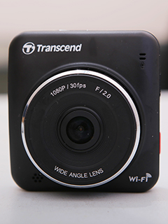 Cruising with Transcend DrivePro 200