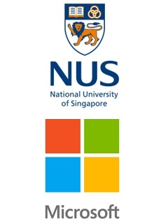 Microsoft and NUS sign a MOU to collaborate on data science education and research