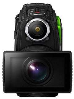The latest Tough camera from Olympus is a 4K action camera that goes everywhere with you.
