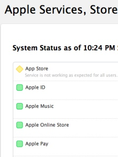 Search issues plagued the iOS and Mac App Stores