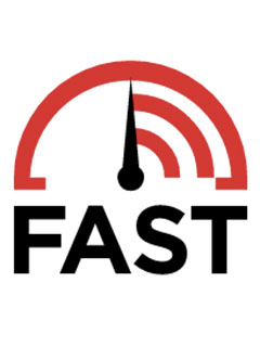Fast.com introduced by Netflix, a tool to check your Internet speeds