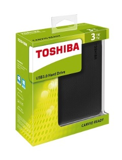 Secure your files with Toshiba Canvio Ready