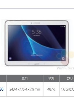 Samsung Galaxy Tab 4 Advanced specs leaked