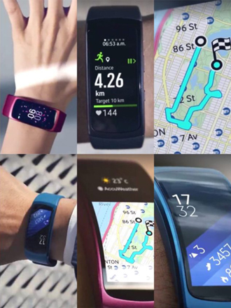 Samsung's Gear Fit 2 leaked images appear online