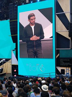Google I/O 2016 - Live updates from the Keynote!