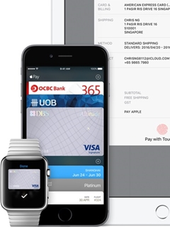 Apple Pay is now available to five major banks in Singapore