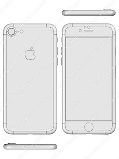 Blueprints of iPhone 7 and 7 Plus confirm some of the rumors