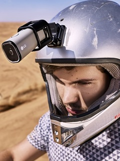 Stream live to YouTube with the LG LTE Action Camera!