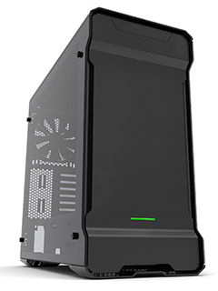 Phanteks updates Enthoo Evolv ATX case with sexy tempered glass side panels