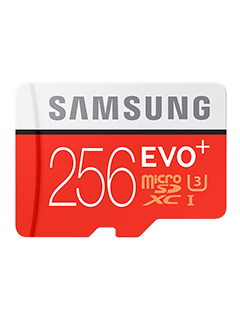 Samsung uses 3D NAND in its new 256GB EVO Plus microSD card