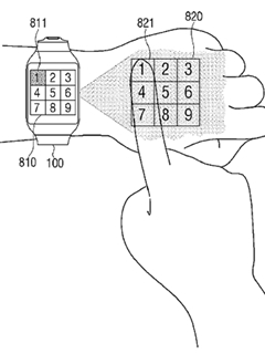 It looks like Samsung plans to integrate image projectors into its wearables