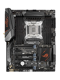New ASUS Intel X99 Signature and ROG Strix motherboards with RGB lighting announced
