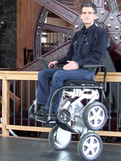 Toyota is teaming up with the inventor of the Segway to make better wheelchairs