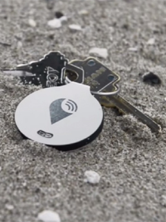 The TrackR Bravo will never let you lose your keys again