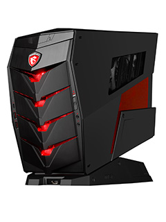 MSI introduces its new Aegis X gaming desktop PC at Computex 2016