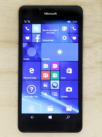 A feature on Microsoft Lumia 950 XL