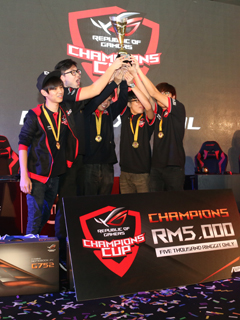 Team 'Missing in Action' reigns supreme at the ROG Champions Cup